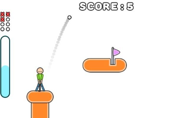 《火柴人高尔夫》游戏画面1