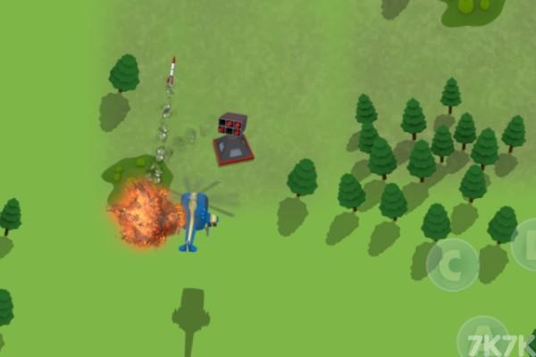 《直升机空袭》游戏画面2
