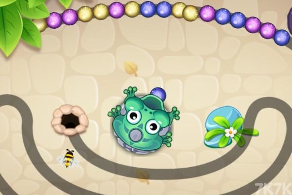 《青蛙祖玛h5》游戏画面1