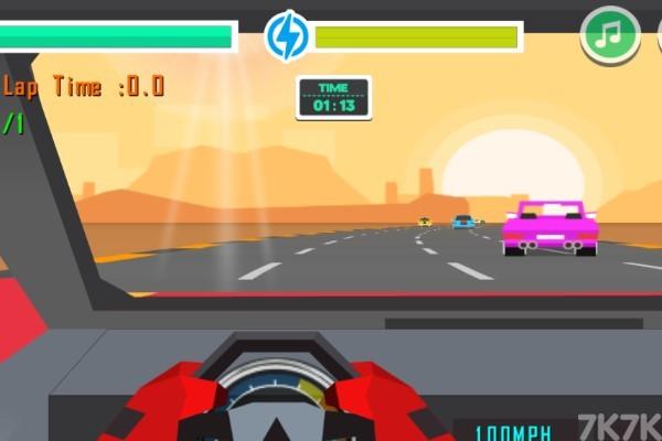 《赛车追逐战》游戏画面1