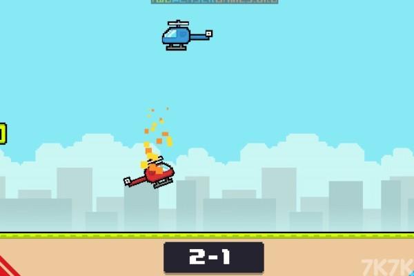 《红蓝飞机对决》游戏画面1
